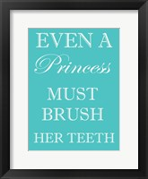Framed Princess Must Brush