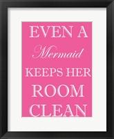 Mermaid Clean Room Framed Print
