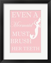 Framed Mermaid Must Brush