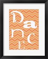 Tango Dance Framed Print