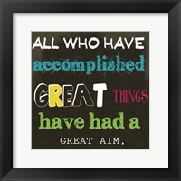 All Who Have 2A Framed Print