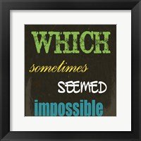 All Who Have 2C Framed Print