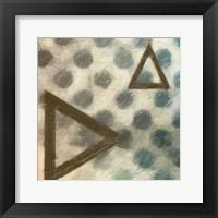 Abstract Triad II Framed Print