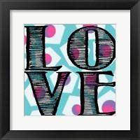 Love 2 Framed Print