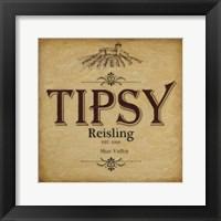 Tipsy Framed Print