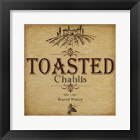 Toasted Framed Print