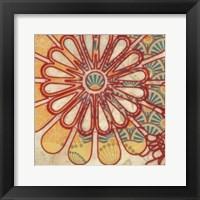 Flora Trance I Framed Print