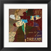 Framed Dreams Dragonfly
