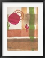 Framed Sedona Sun