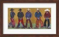 Framed Western Cowboys