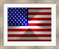 Framed American Flag