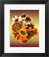 Framed Sunflower 7