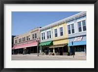 Framed USA, Wisconsin, Manitowoc, Main Street