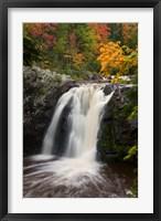 Framed WI, Pattison SP, Little Manitou Falls, Black River