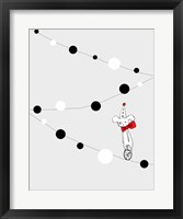 Framed Circus Mouse I