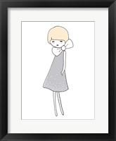 Framed Grey Dress
