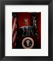 Framed Lyndon B. Johnson, 36th President of the United States