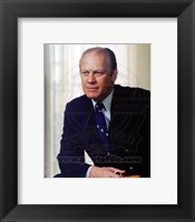 Framed Gerald Ford, 38th President of the United States