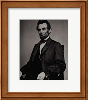 Framed Abraham Lincoln, 16th President of the United States