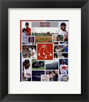 Framed Boston Red Sox 2015 Team Composite