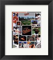 Framed Baltimore Orioles 2015 Team Composite