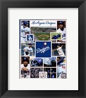 Framed Los Angeles Dodgers 2015 Team Composite