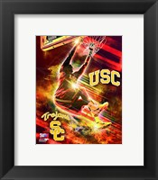 Framed USC Trojans Player Composite