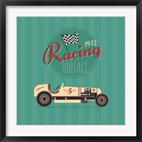 Framed Vintage Racing 2
