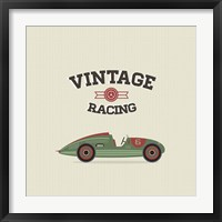 Framed Vintage Racing 3