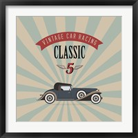Framed Vintage Racing 4
