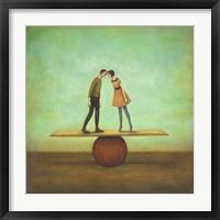 Framed Finding Equilibrium