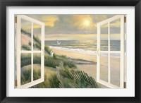 Framed Morning Meditation with Windows