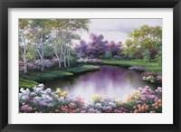 Framed Springtime Symphony
