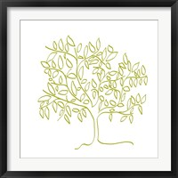 Framed Citron Tree
