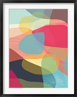 Layered Earth One Framed Print