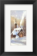 Framed Country Church