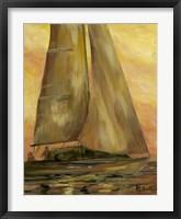 Framed Sailboat 1