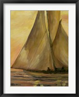 Framed Sailboat 2