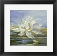 Framed Water Lillies 3