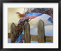 Framed Old Glory Morning