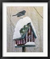 Framed Stars and Stripes Junco