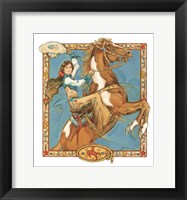 Framed Lead Mare