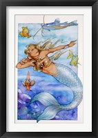 Framed Mermaid 2
