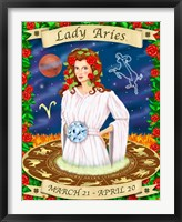 Framed Aries