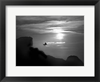 In the Skies II Framed Print
