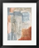 Summer Rust II Framed Print