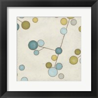 Molecular Blossoms I Framed Print