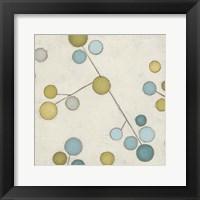 Molecular Blossoms IV Framed Print