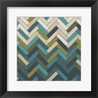 Parquet Prism I Framed Print