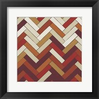 Parquet Prism IV Framed Print